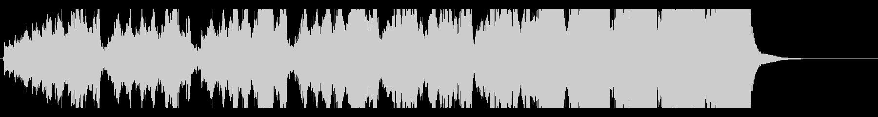 チェロトリオ ハロウィン 恐怖の未再生の波形