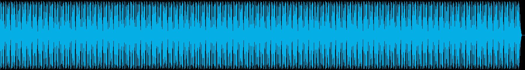 フリースタイル用ビート(シンプル)の再生済みの波形