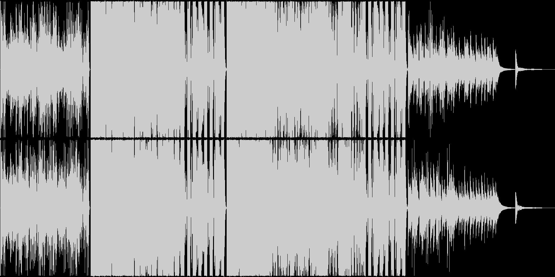 Synth pop kawaiiの未再生の波形