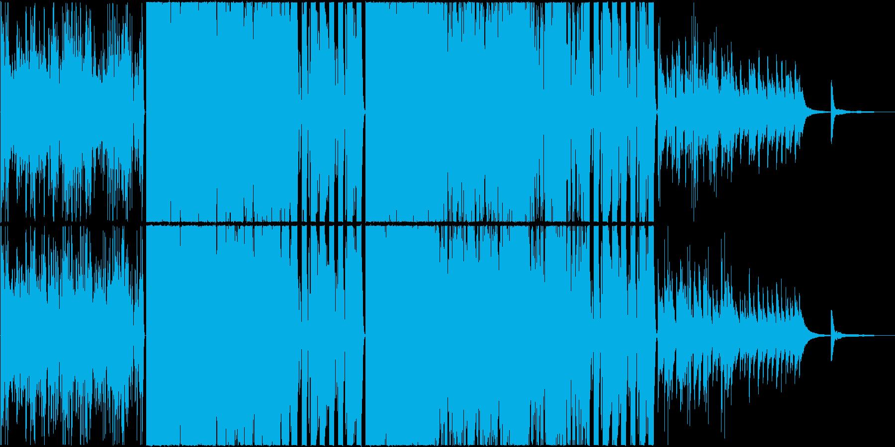 Synth pop kawaiiの再生済みの波形
