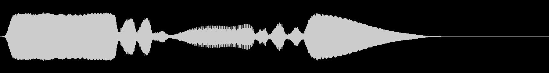 ハーモニカ:クイックダウンアンドア...の未再生の波形