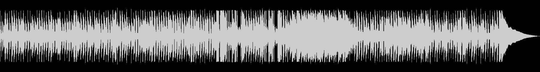 アコーディオンが特徴のフレンチポップスの未再生の波形