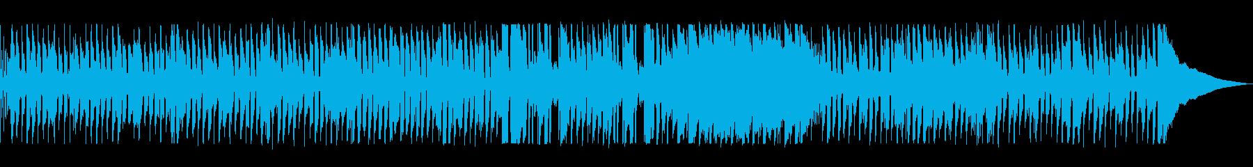 アコーディオンが特徴のフレンチポップスの再生済みの波形