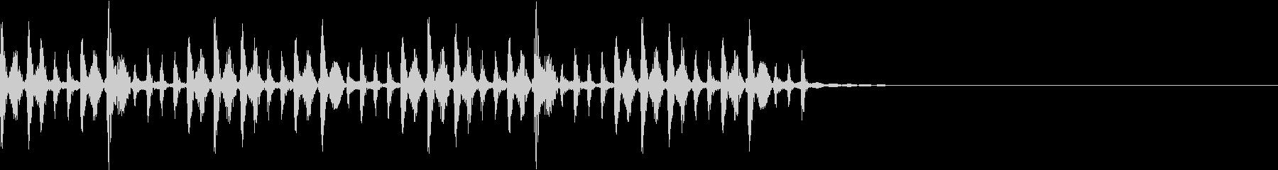 ポコパカポンパカ・民族楽器/場面転換の未再生の波形
