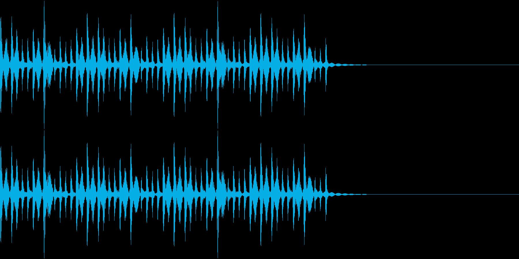ポコパカポンパカ・民族楽器/場面転換の再生済みの波形