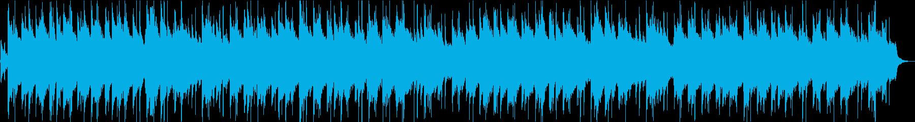 花火のLofi HipHop(和風)の再生済みの波形