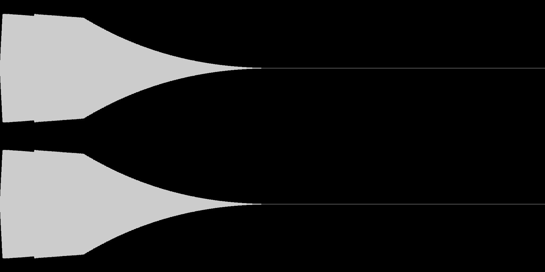 スーパーマリオ風コインの音ですの未再生の波形