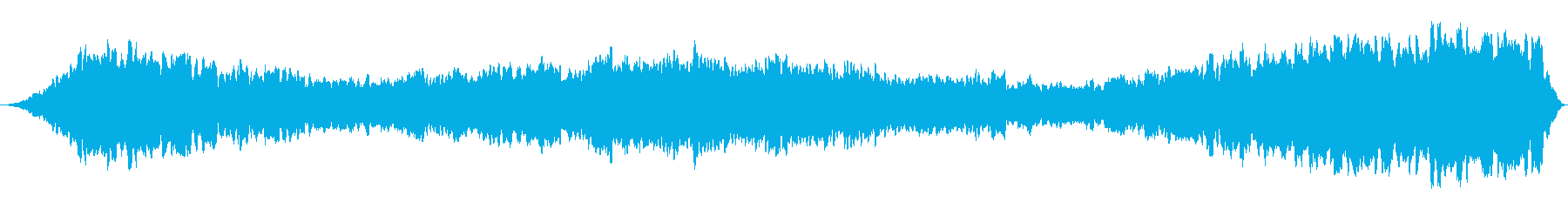 サイクリングピッチ警告スペースアラームの再生済みの波形