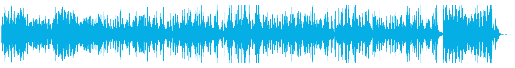 ショパン ピアノ曲 ワルツ第11番・高音の再生済みの波形