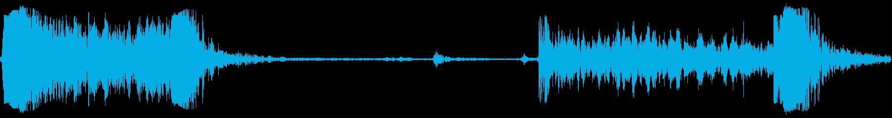 ドアタンク弾薬開いているの再生済みの波形