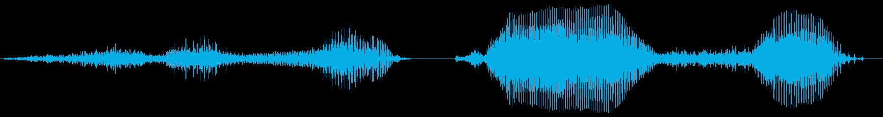 その調子!2【ロリキャラの褒めボイス】の再生済みの波形