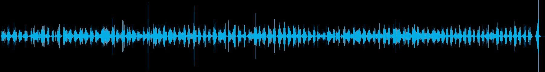 ステップ スノーウォークファースト01の再生済みの波形
