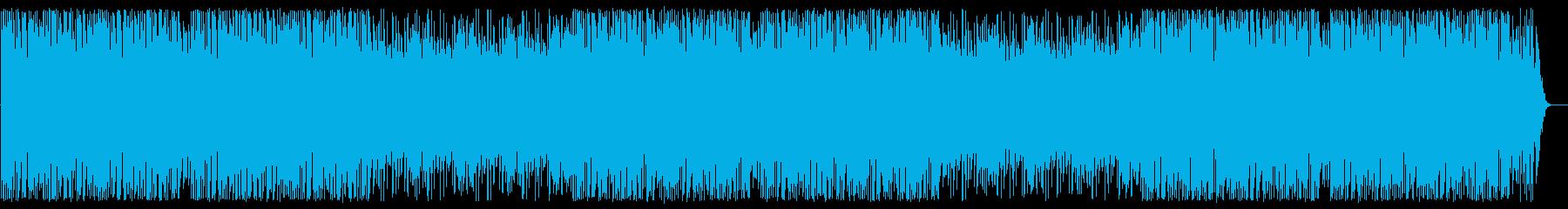 スピード感あってパワフルなメロディーの再生済みの波形
