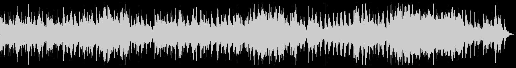 「仰げば尊し」スムースジャズバージョンの未再生の波形