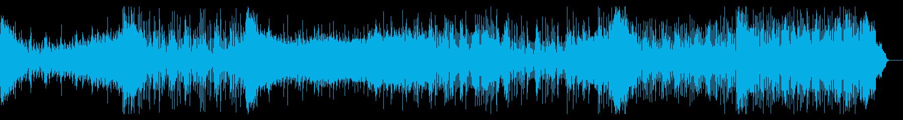 シネマティックなショートトレーラーの再生済みの波形