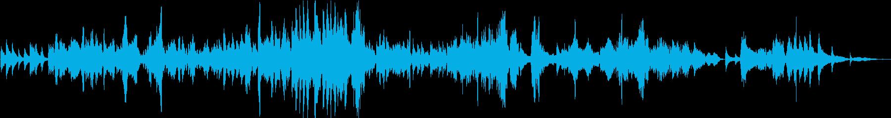 "Glazunov ""Meditation"" / live violin's reproduced waveform"