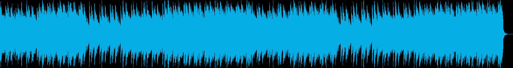 森の奥・神社・神秘・三味線が印象的な和風の再生済みの波形