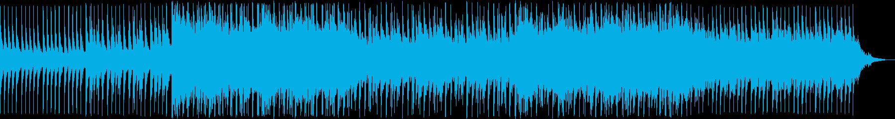 さわやかな雰囲気のテクノポップの再生済みの波形