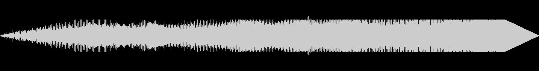 ハムドラムドローンの未再生の波形