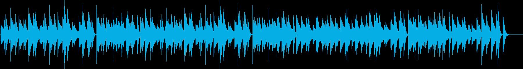 ほのぼの可愛い♪のんびりピアノBGMの再生済みの波形