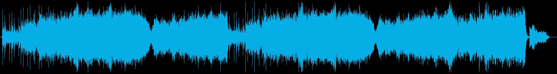 琴&オーケストラ切ない和風局の再生済みの波形