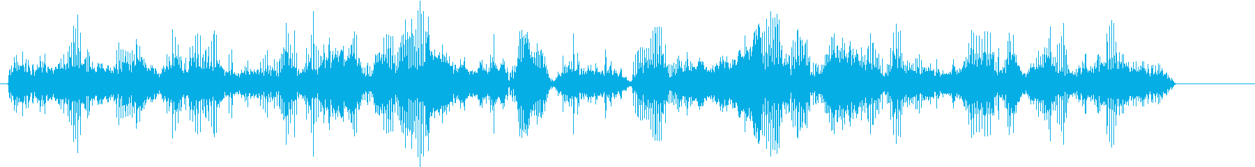 エイリアンクリーチャーブタドッグの再生済みの波形