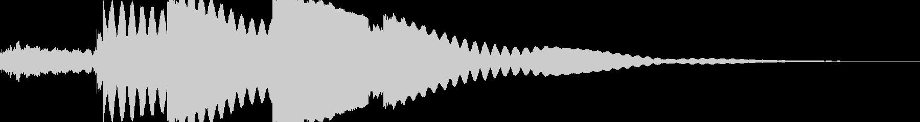 チリリン 風鈴 神秘的 和風の未再生の波形