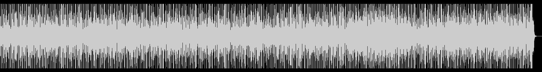 ファンクギター怪しい雰囲気の未再生の波形