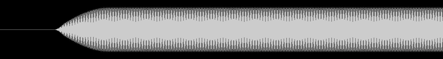 ビープ音-短いの未再生の波形