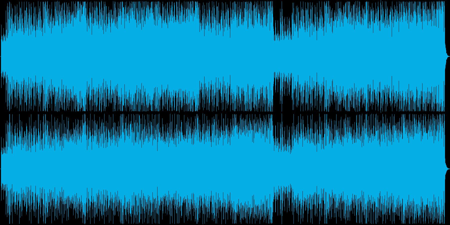 ファンキーなブラスセクションによる軽快…の再生済みの波形