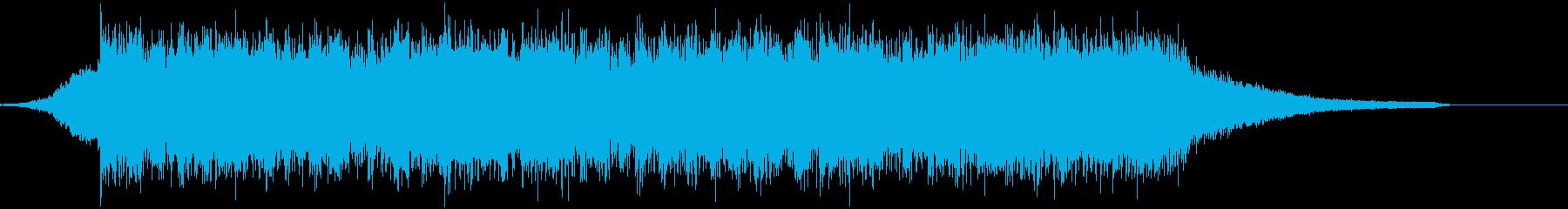 企業VP映像、109オーケストラ、壮大cの再生済みの波形