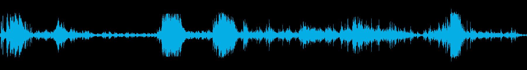 メタルシェイクラトルシンの再生済みの波形