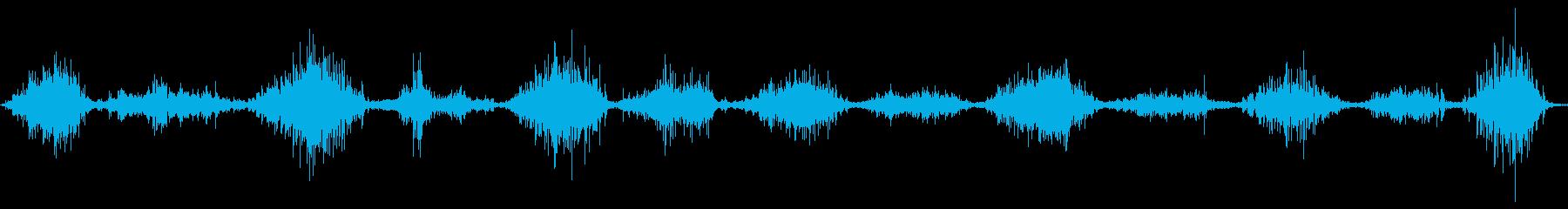 ハードラバーマット:短い鋸傷の再生済みの波形