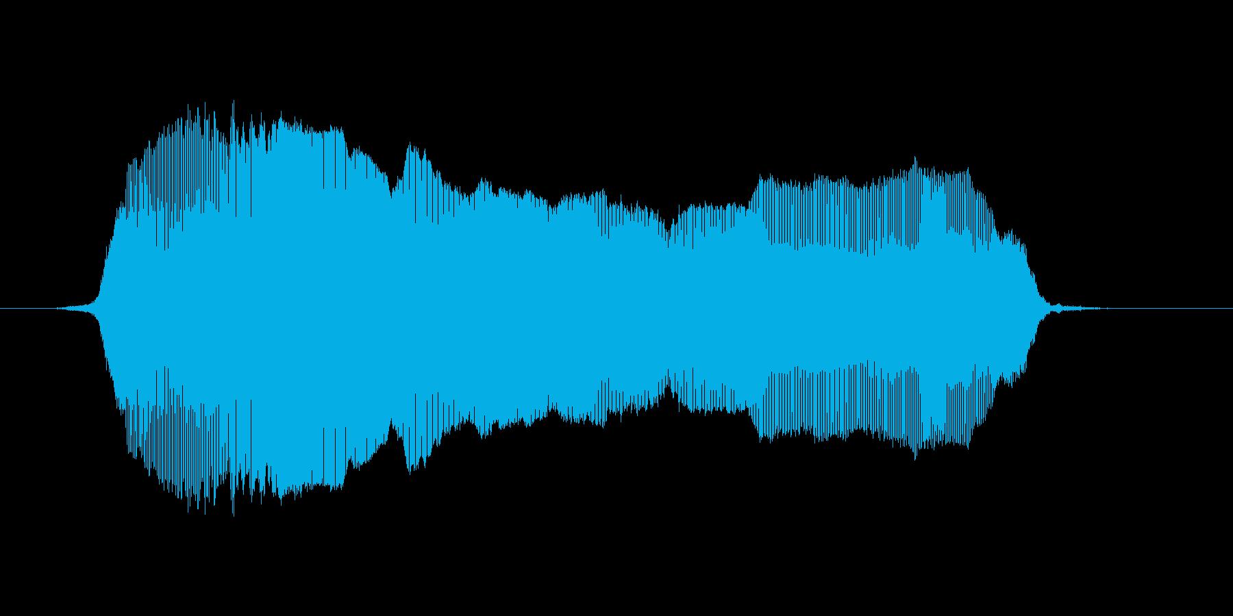いえーい2の再生済みの波形