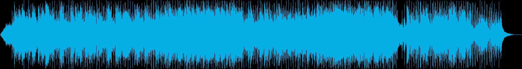 ニューエイジ、ピアノ、高騰する弦、...の再生済みの波形