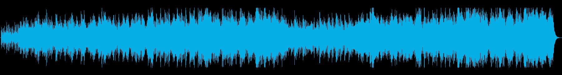 王道ファンタジーRPGのフィールドBGMの再生済みの波形
