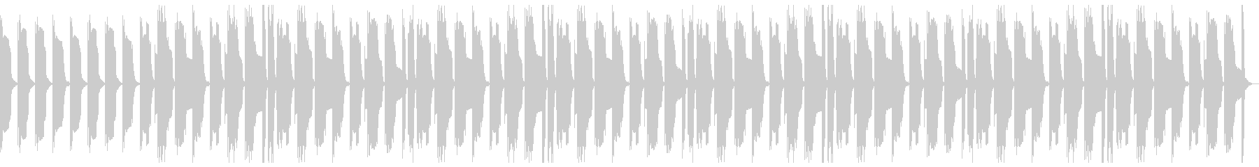 マヌケで怪しいBGMの未再生の波形