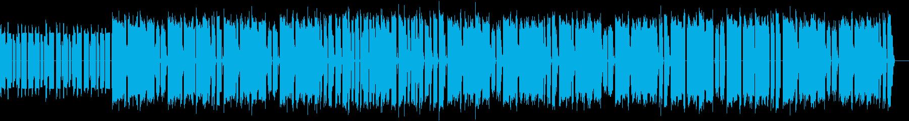 GAME001のレトロバージョンですの再生済みの波形