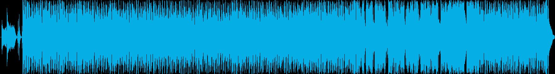 情熱大陸っぽい音の再生済みの波形