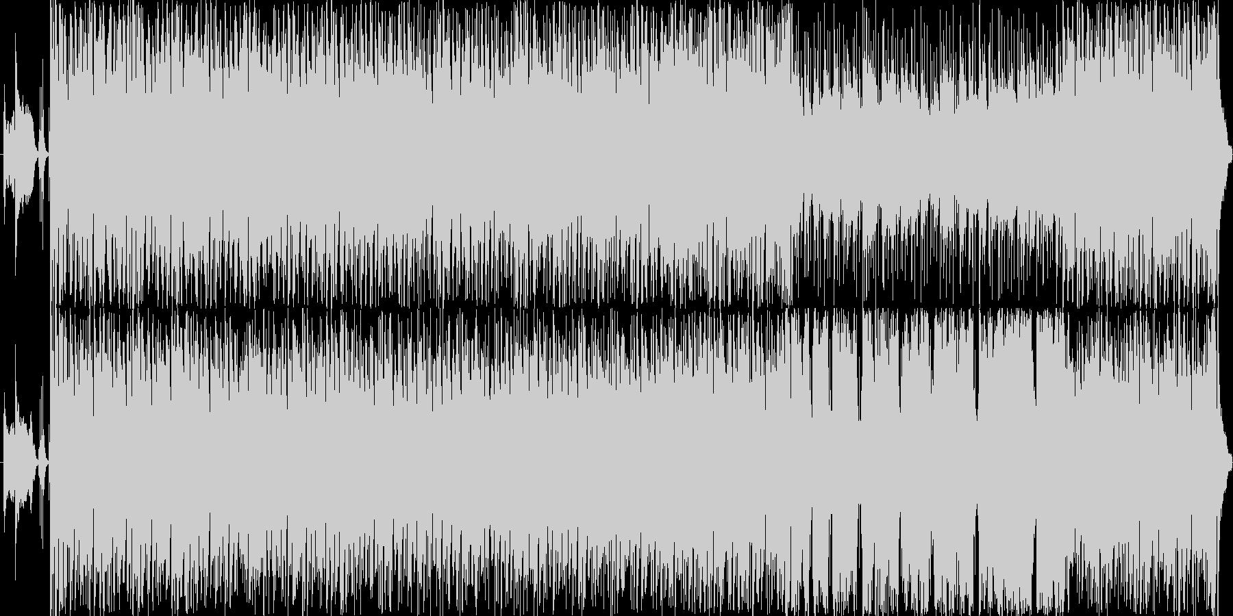 情熱大陸っぽい音の未再生の波形
