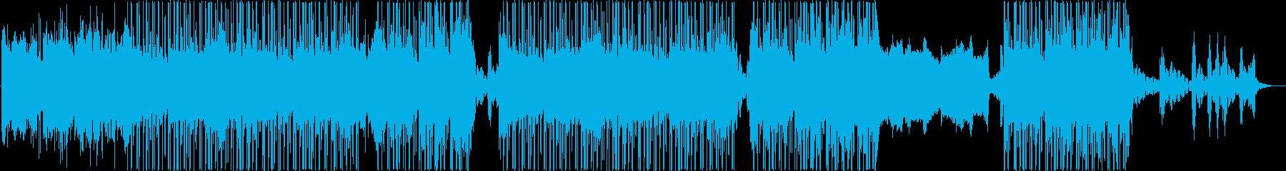 ローファイ、チルアウト、ヒップホップ♪の再生済みの波形