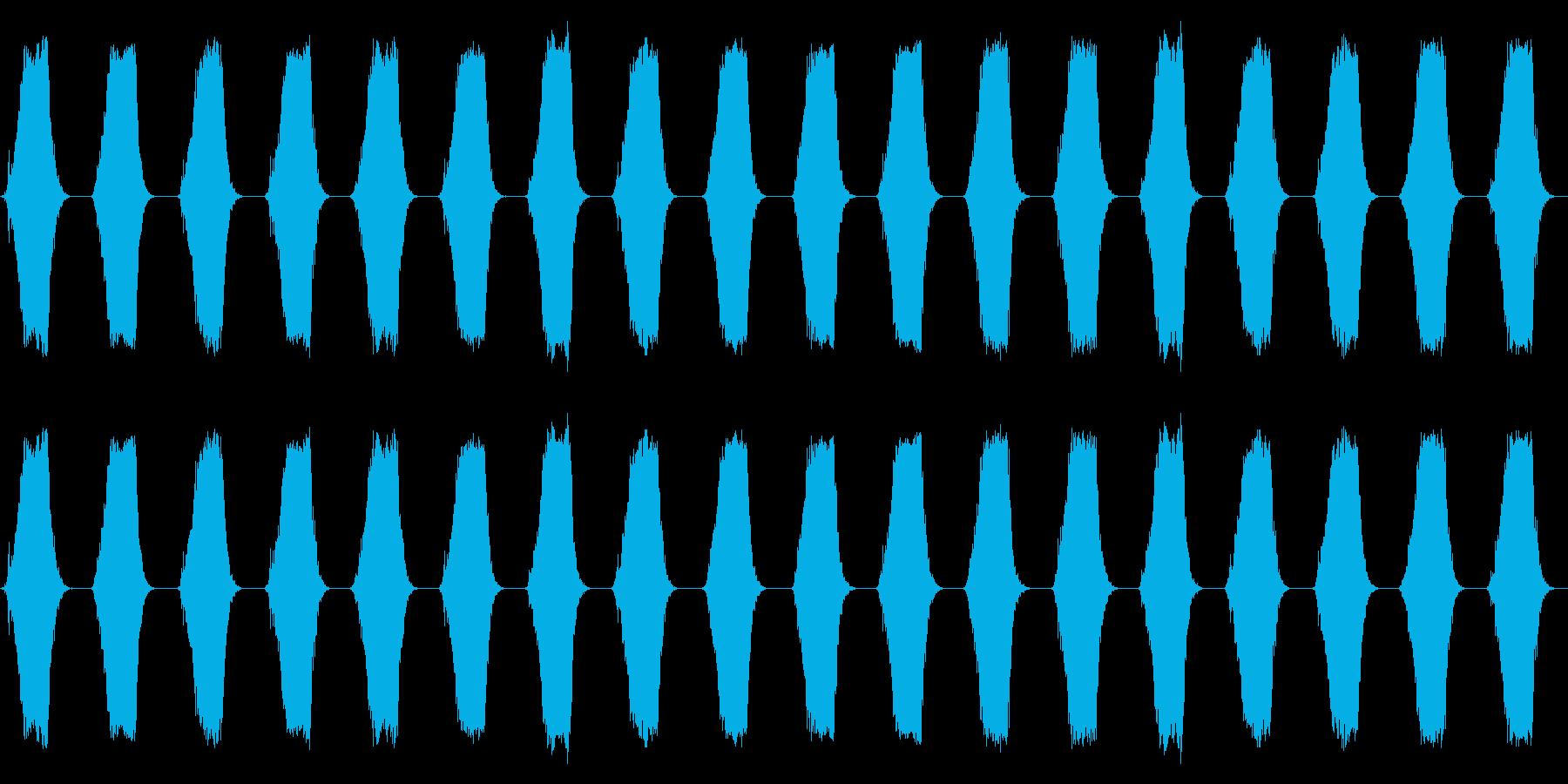 携帯電話 バイブレーション02-06(手の再生済みの波形