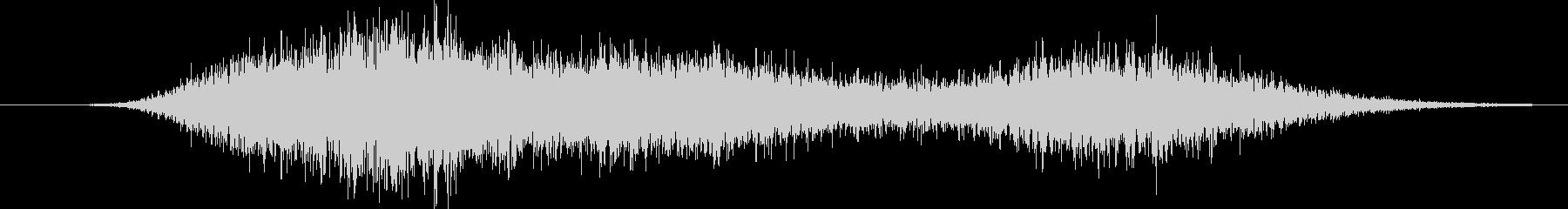 ドラマチックラッシングメタルウーッシュの未再生の波形