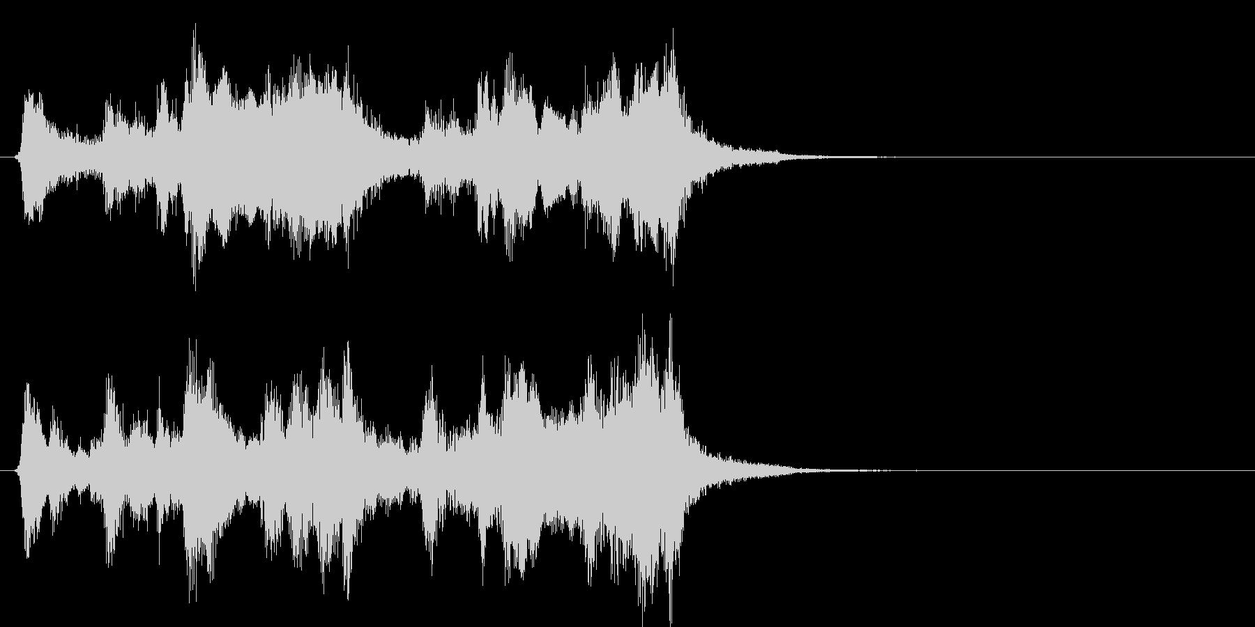 マーヴェルMARVEL系オケのロゴの未再生の波形