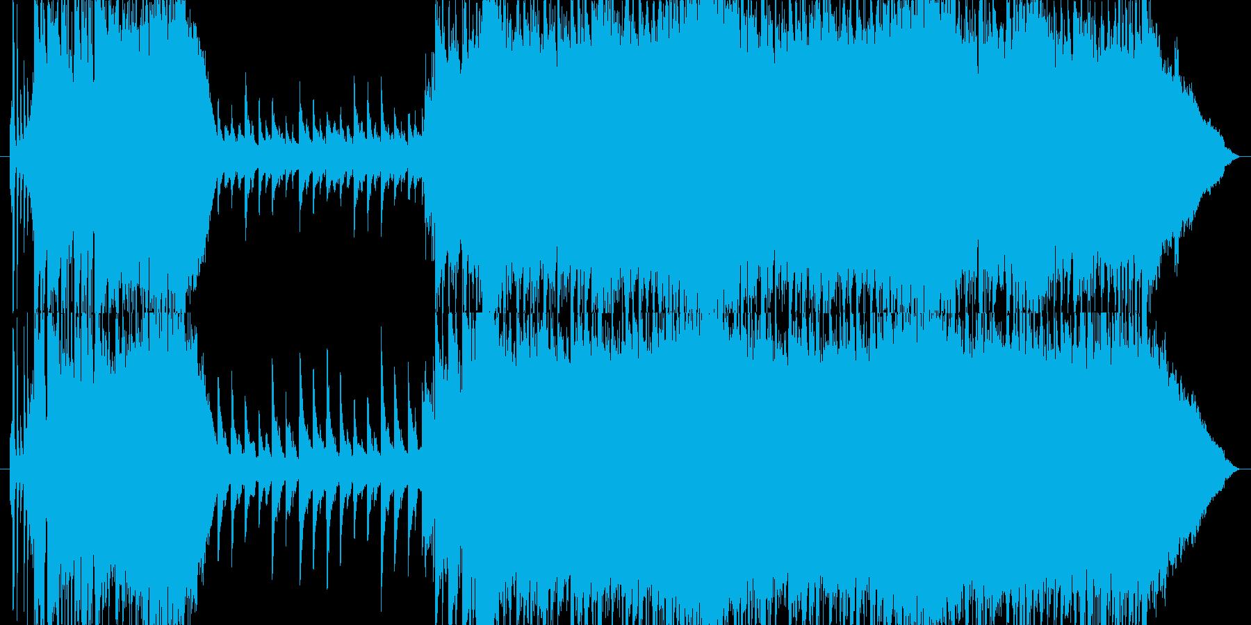 Queen風リフから壮大な感動的バラードの再生済みの波形