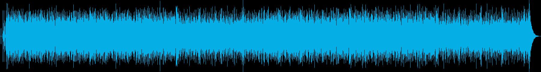 ヒーローが出てきそうなかっこいいBGM2の再生済みの波形