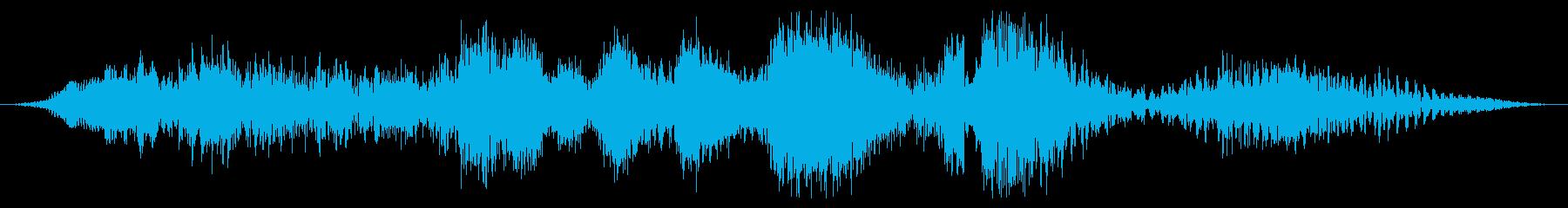トランスフォーマーロボット:大:変...の再生済みの波形
