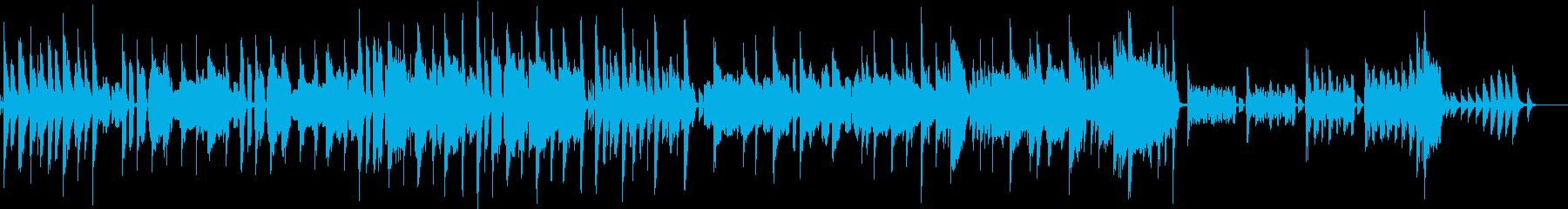 ほのぼの スウィング ポップの再生済みの波形