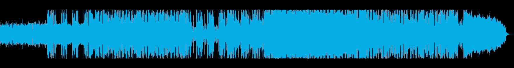 重量級のロックの進撃の再生済みの波形