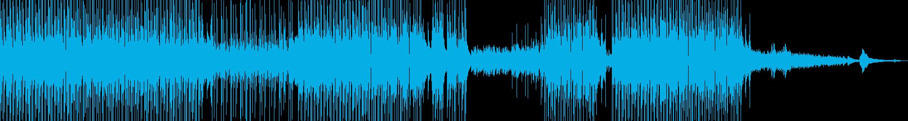 ギター・涼しげなポップス 打楽器・短尺★の再生済みの波形